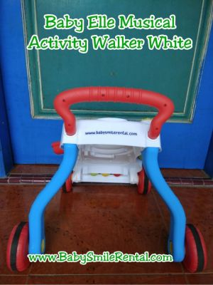 BABY ELLE Musical Activity Walker White