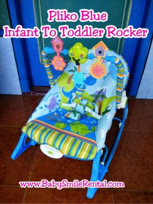 Fisher Price Infant to Toddler Rocker Blue